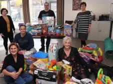 Zakken vol speelgoed voor Boxmeerse kinderen uit arme gezinnen: inzameling voortijdig gestopt