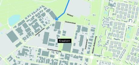 Extra weg voor bedrijven Kraaiven Tilburg, kosten 2,5 miljoen