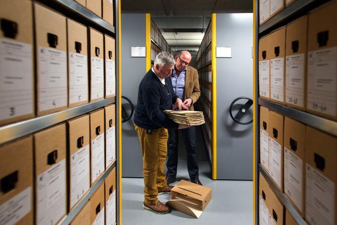 Het streekarchief Eindhoven digitaliseert alle bouwvergunningen en tekeningen.