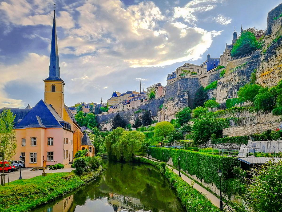 Voor mooie uitzichten moet je in Luxemburg zijn.