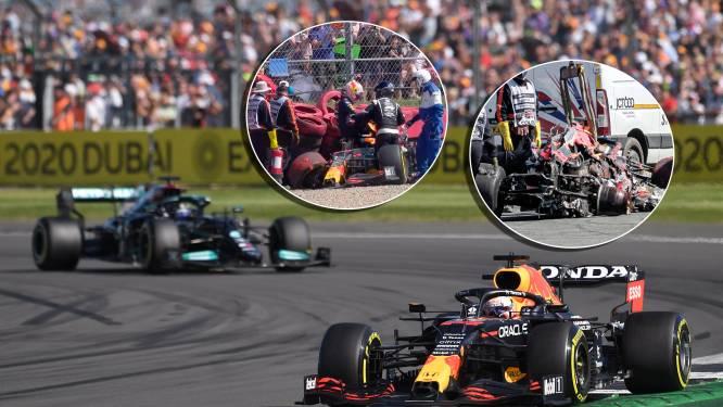 Verstappen nog woest op Hamilton: 'Als het andersom was geweest, zou ik niet zo feest hebben gevierd'
