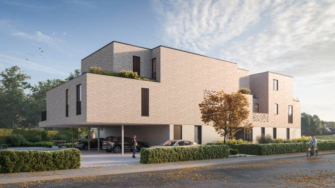 Nieuwbouw met 22 appartementen komt langs Waregemsesteenweg in Kruishoutem