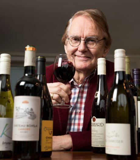 Hubrecht heeft bij elke wijn een passend schilderij