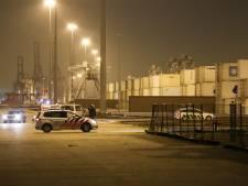 Politie en Douane houden twee insluipers aan bij containerterminal aan de Maasvlakte