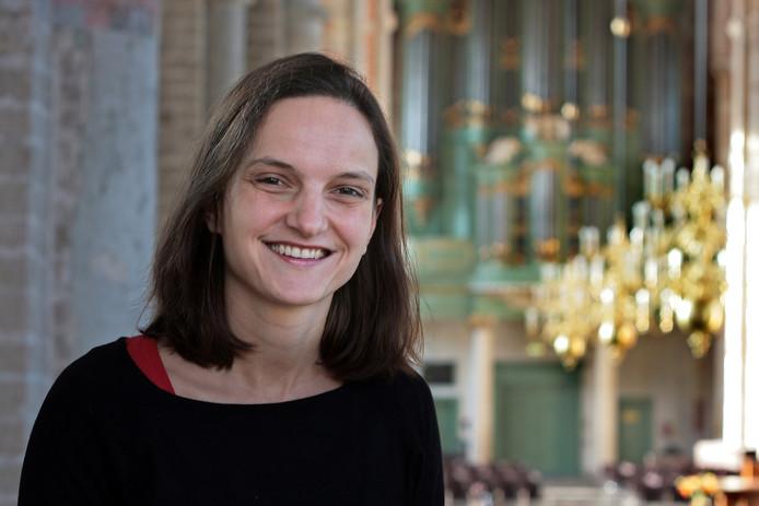 Cantor-organist Kirstin Gramlich