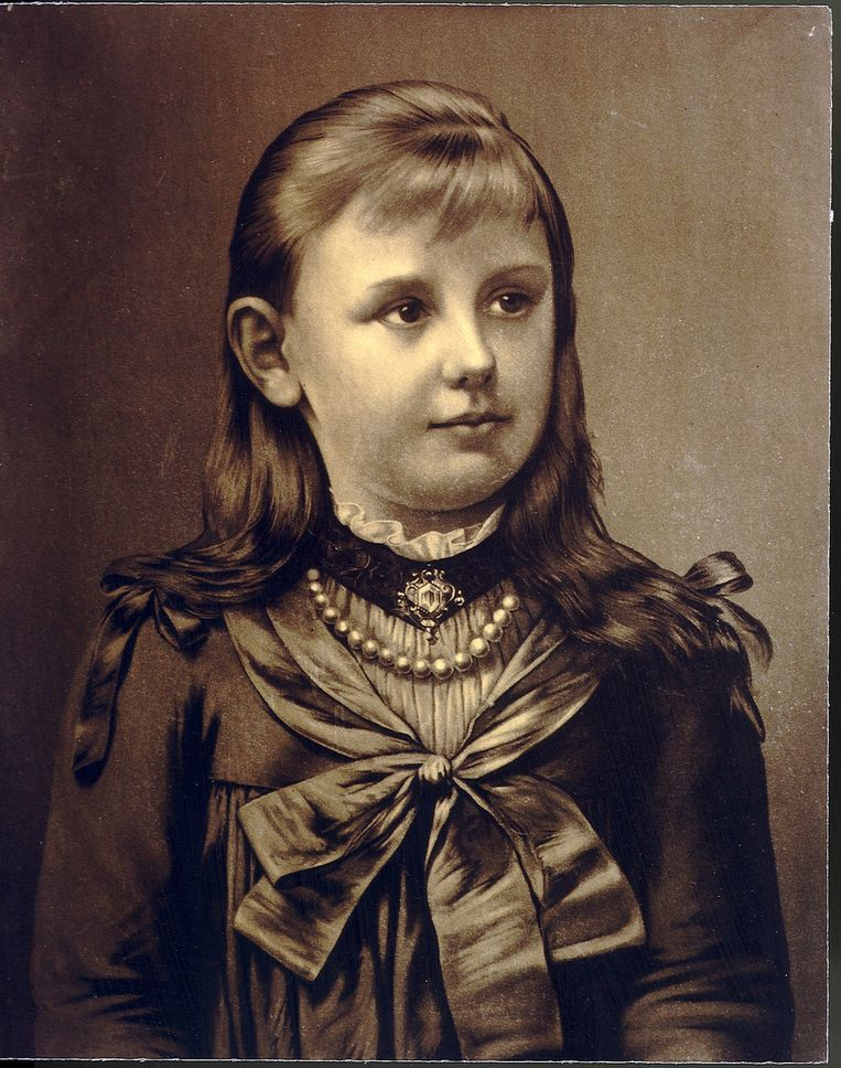 Portret van koningin Wilhelmina, afkomstig uit ANP foto-archief. Beeld Benelux Press