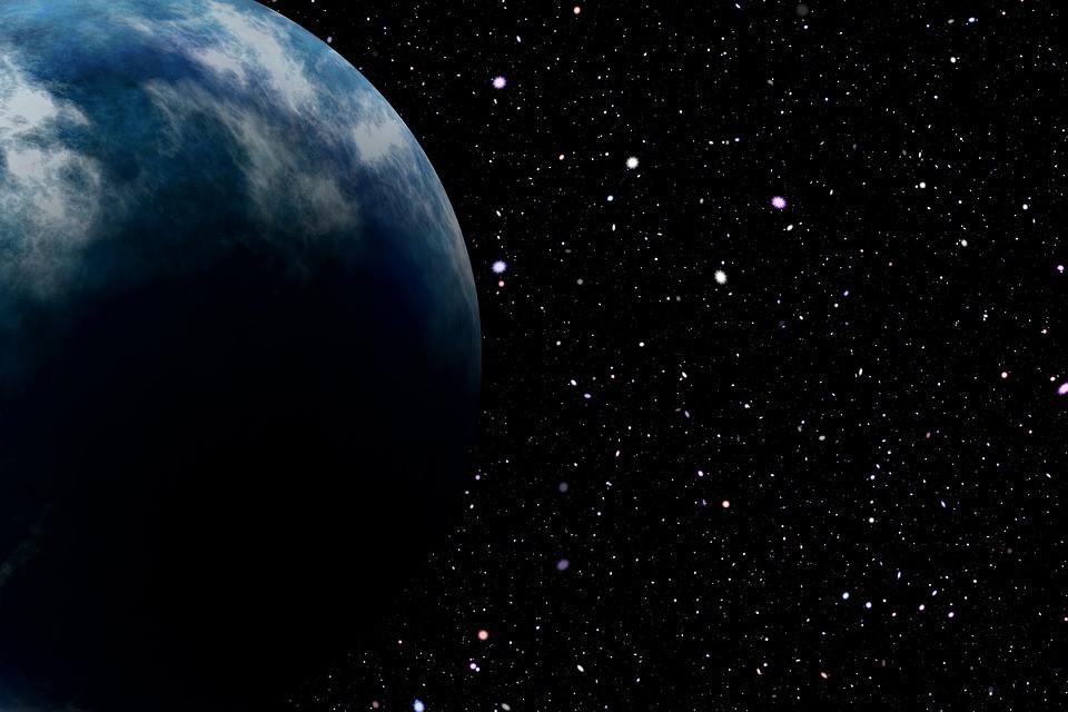 De solitaire planeet bevindt zich op zo'n 20 lichtjaren van de aarde.