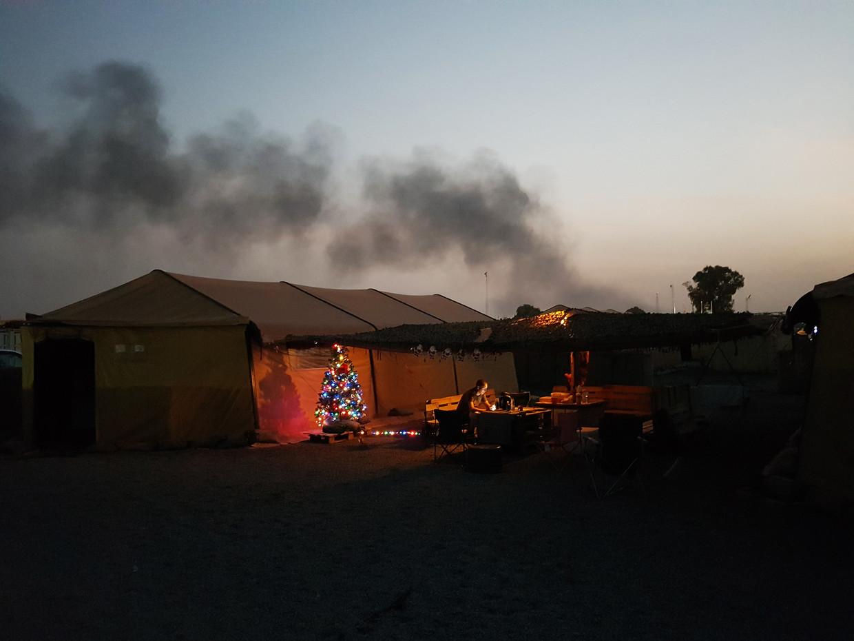 Camp Bifrost in Mali. Beeld RV