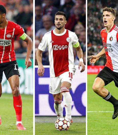 Waarom oktober de maand van de waarheid is voor Ajax, PSV en Feyenoord