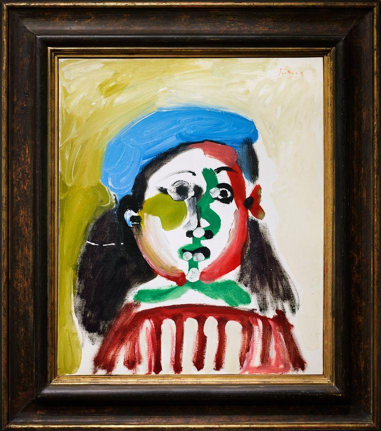 Fillette au bèret van Picasso. Beeld rv
