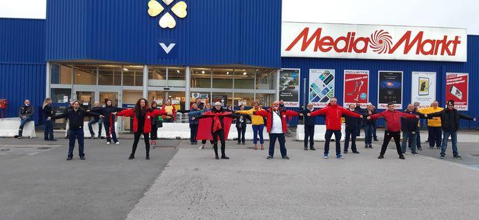 Grève au Makro de Lodelinsart (Charleroi)