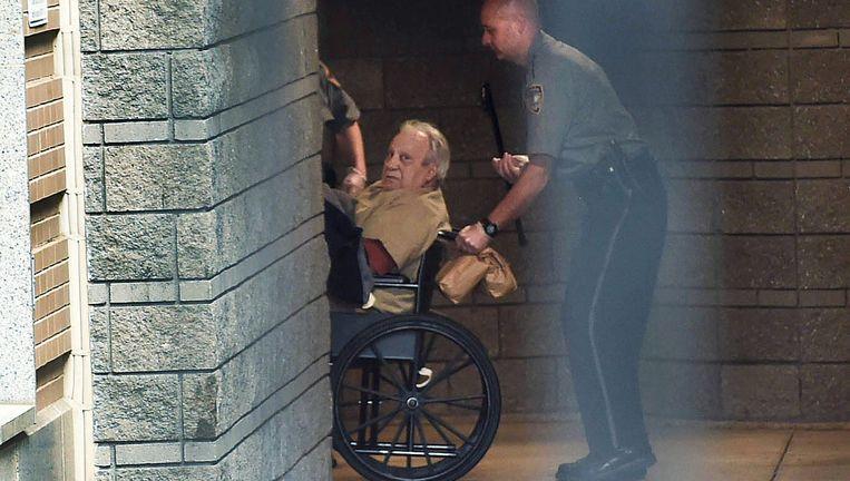 Robert Gentile na zijn arrestatie in april. Hij zou als enige de kunstroof in het Isabella Stewart Gardner Museum kunnen helpen oplossen. Beeld AP