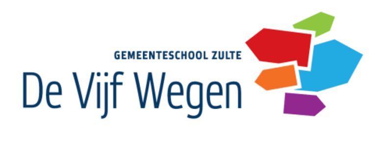 Het nieuwe logo van De Vijf Wegen.