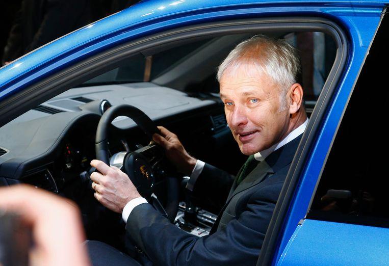 Oud-topman van Volkswagen Matthias Müller verdiende vorig jaar ruim 10 miljoen euro. Beeld REUTERS