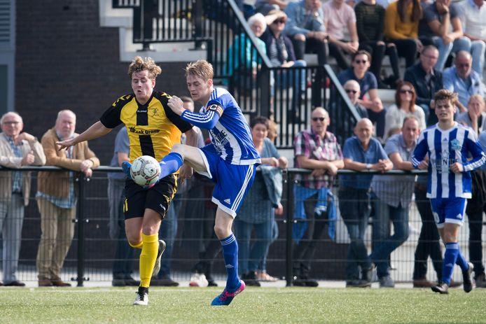 VVG'25 maakte in de derby gehakt van Terborg: 8-0.