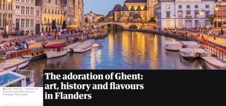 The Guardian tipt Gent als reisbestemming, voor het Lam Gods, maar ook gewoon voor de stad zelf