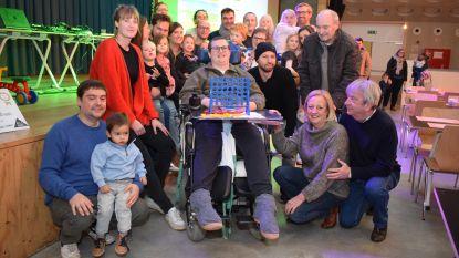 Geslaagde benefiet voor gehandicapte Hans