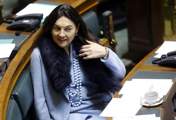 Federaal minister voor Milieu Marie Christine Marghem (MR)