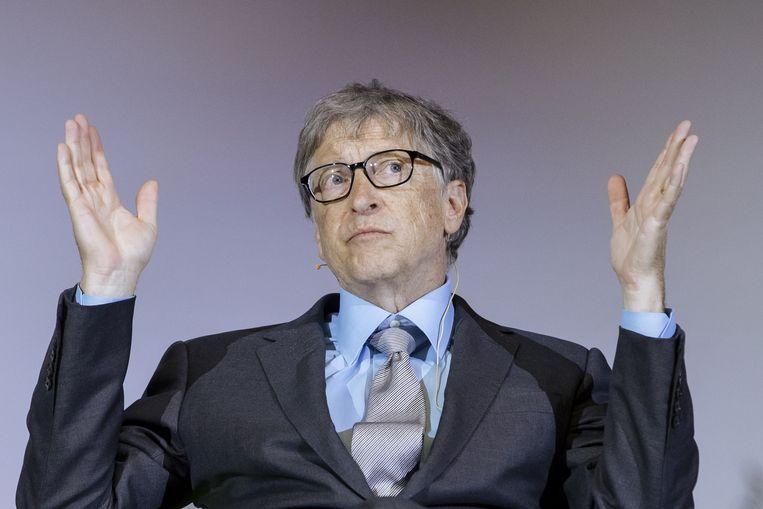 Volgens een woordvoerder van Bill Gates zou de affaire met een werknemer 'op geen enkele manier' invloed hebben gehad op zijn vertrek bij Microsoft.  Beeld EPA
