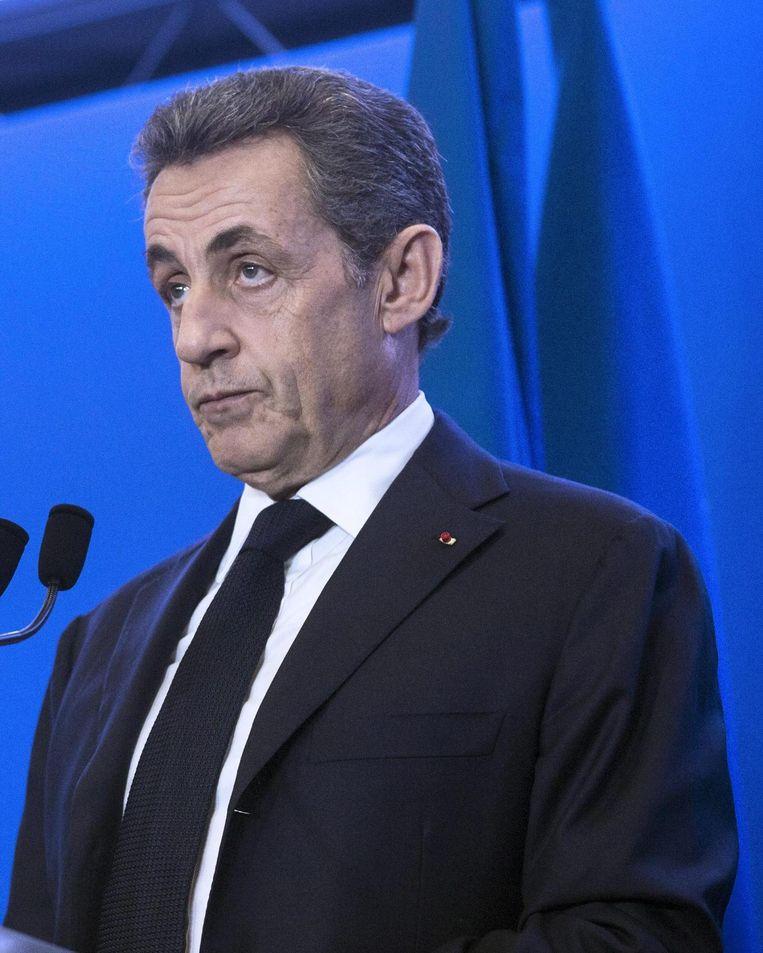Voor de Republikeinen van Nicolas Sarkozy is de uitslag teleurstellend. Beeld EPA
