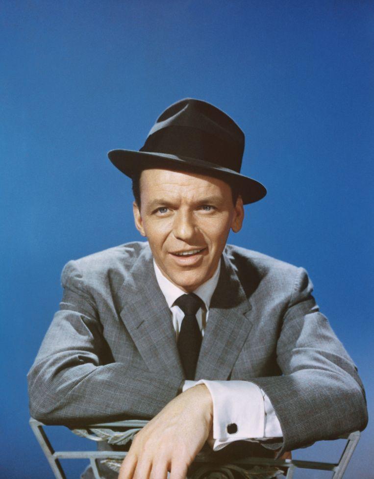 Frank Sinatra in de late jaren 50. Beeld Michael Ochs Archives