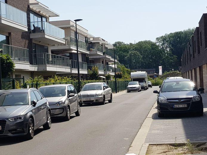 Onder andere de parkeerproblemen in de Ronde Meers werden besproken.