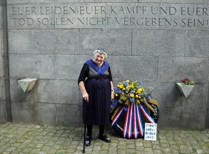 Aaltje Kuiper-Boldewijn (85) kende de naar kamp Neuengamme weggevoerde Staphorster mannen bijna allemaal