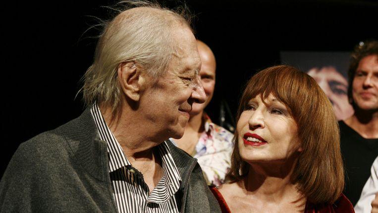 Ramses Shaffy met Liesbeth List, in oktober 2009. © ANP Beeld