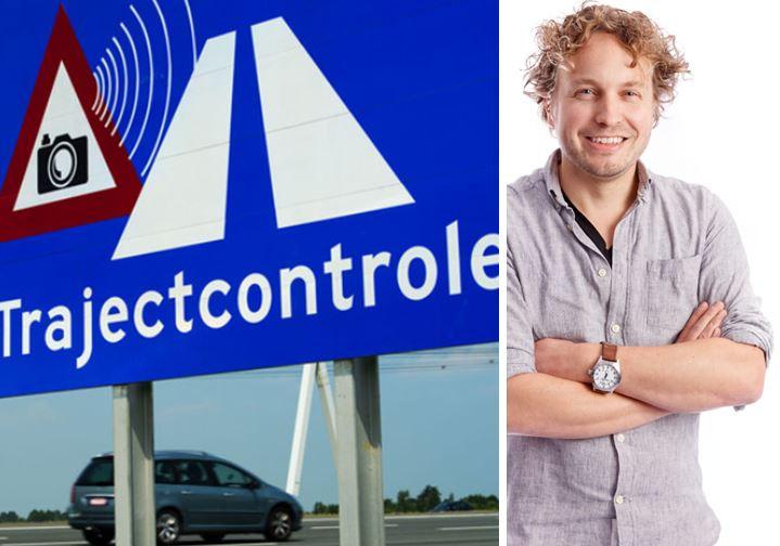 Veel minder trajectcontroleboetes op de A58, las columnist Niels Herijgens. Zijn we eindelijk braaf geworden?