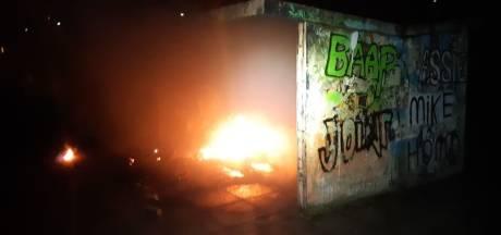 Brand bij hangplek in Strijen: 'Zo heb je dadelijk echt geen plek meer om te chillen'