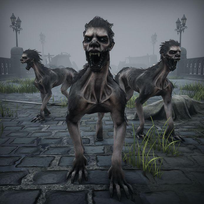 Een laatste categorie van Vlaams-Nederlandse creaturen die je tegenkomt in 'Black Legend': Nekkers.