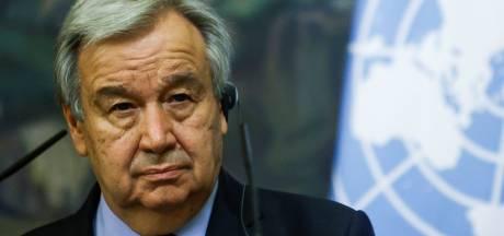 Le secrétaire général de l'ONU en visite en Belgique