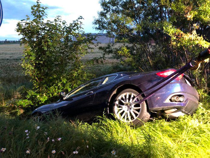 De Maserati GranTurismo met amper 50 kilometer op de teller.