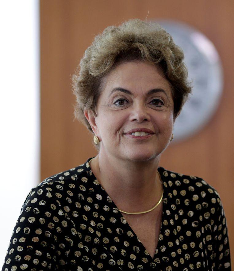 Braziliaans president Dilma Rousseff.