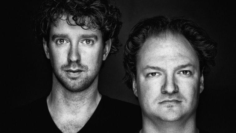 Niels van der Laan en Jeroen Woe. Beeld Michael Loos