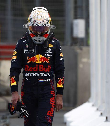 Verstappen sneert naar leverancier Pirelli: 'Feit is dat er weer een band is geploft'