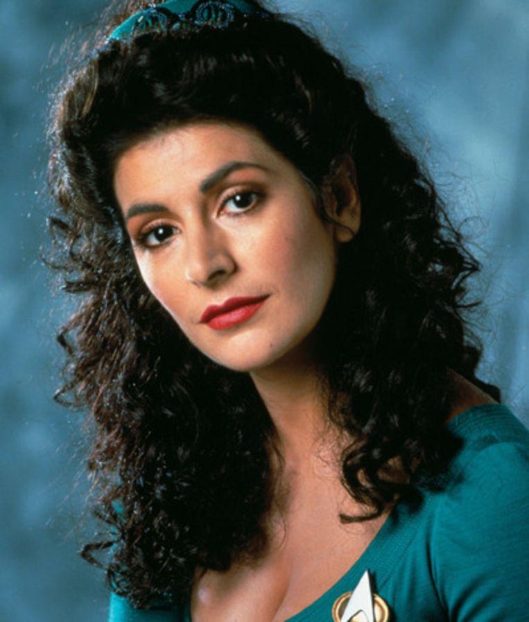 Deanna Troi, adviseur op de USS Enterprise Beeld Star Trek