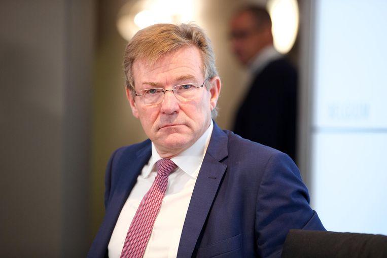 Minister Johan Van Overtveldt (N-VA). Beeld BELGA
