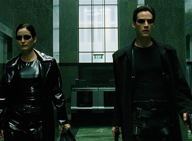The Matrix Beeld rv