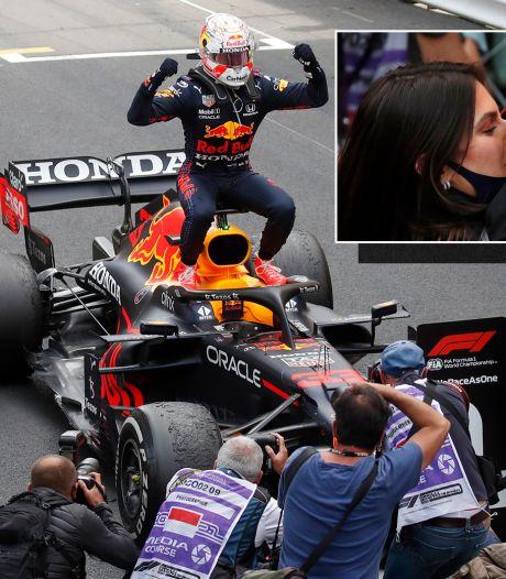 Historische dubbelslag: Verstappen wint GP van Monaco en is eerste Nederlandse WK-leider ooit