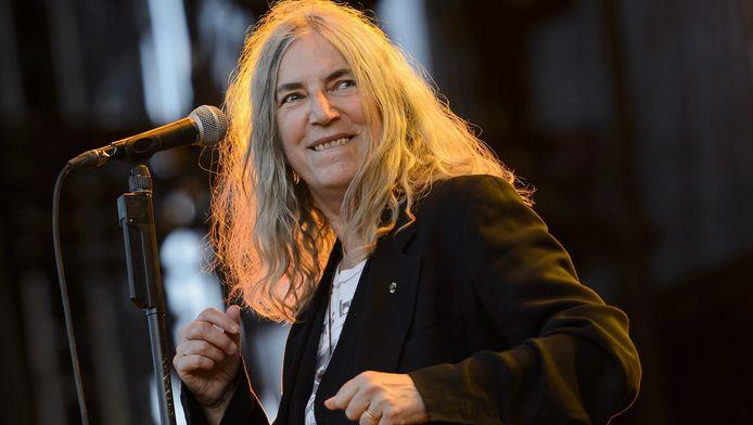 Patti Smith vorige maand in Zwitserland.