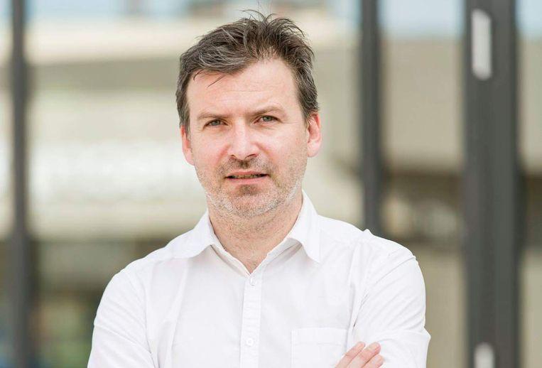 Dirk Jacobs. Beeld ULB-Isopix