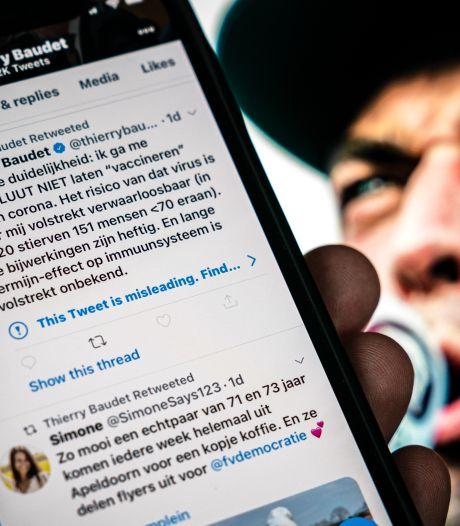 Twitter noemt tweet van Baudet misleidend, dit zijn de gevolgen