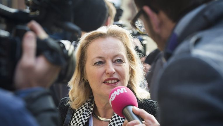 Minister van Onderwijs, Cultuur en Wetenschap Jet Bussemaker Beeld anp