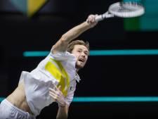 Medvedev en finale à Marseille et assuré d'être N.2 mondial
