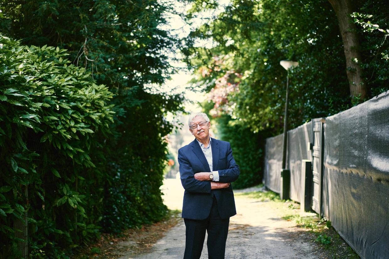 Roger Standaert. Beeld Thomas Sweertvaegher
