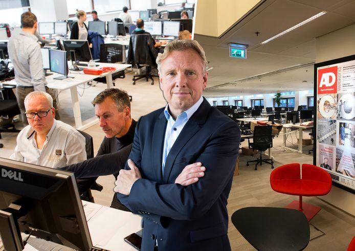 Paul van den Bosch (hoofdredacteur AD Regio) over de terugkeer naar de redactie.