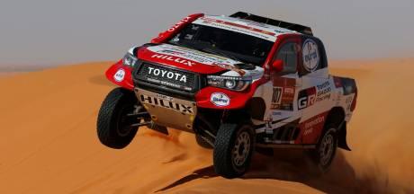 Ten Brinke raast naar vierde plek op inktzwarte Dakar-dag, Price levert veel in