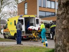 Man gewond na bedrijfsongeval met steiger