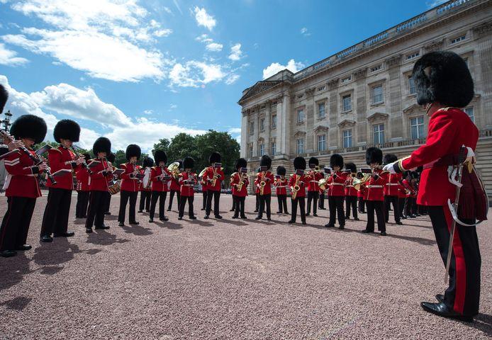 De Grenadier Guards.